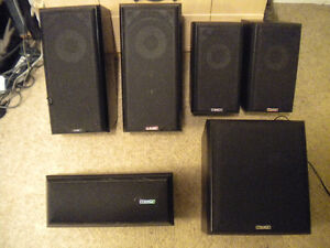 Mission Surround System Speakers
