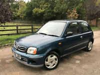 Nissan Micra 1.0 16v 2001 SE OCTOBER 2018 MOT