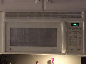 Hood range microwave