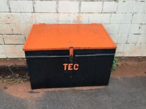 Metal Job Site Storage Box