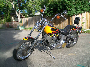 MUST SEE!! 1991 HARLEY SOFT TAIL CUSTOM ONLY 3000 MILES!! $8000!
