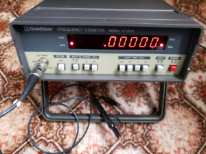 Goldstar FC-7012 100 MHZ Frequency Counter