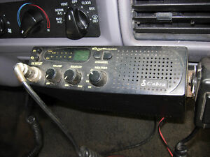 COBRA CB Radio w/ uniden mic and magnetic antenna
