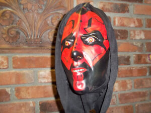 DARTH MAUL FULL MASK LUCAS FILMS $10.00