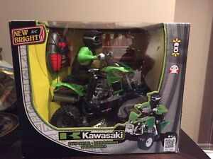 Kawasaki ATV radio controlled