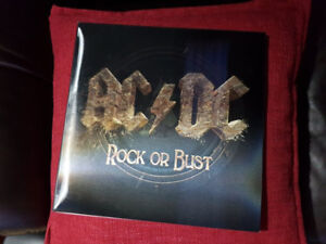 ACDC ROCK OR BUST VINYL 3D COVER ! BRAND NEW !