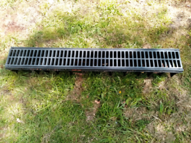 Surface drain channel