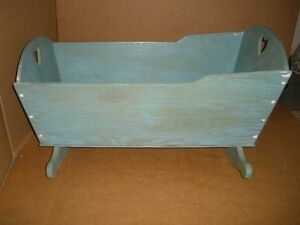 Handcrafted Wooden Cradle for Refinishing London Ontario image 3