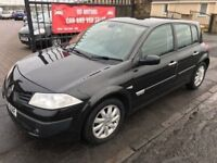 2006 (56) RENAULT MEGANE 1.5 DCI, 1 YEAR MOT, SERVICE HISTORY, WARRANTY, NOT ASTRA FOCUS 308 NOTE