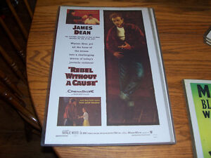 James Dean Rebel Without a Cause Poster 12 by 16 In hard plasti