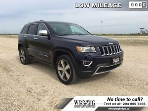 2016 Jeep Grand Cherokee Limited 4x4 w/Sunroof  20 inch rims  4x