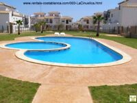 Costa Blanca, Spain. 1st floor apt a/c, English TV, Wi-fi, sleeps up to 6 (SM003)