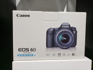 STORE SALE - CANON EOS 6D WITH 24-105MM LENS KIT Brand New