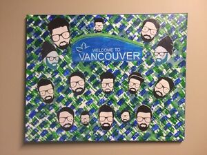 """""""Welcome To Vancouver"""" original art by Mike Reed"""