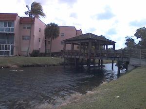 Floride Fort-Lauderdale Condo 55 + Lac + Piscine + Gym