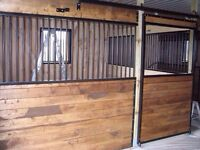 Horse Stall front and divider for sale