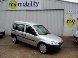 Vauxhall Combo Automatic Wheelchair Disabled Access Car WAV