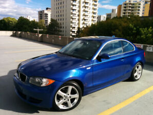 2008 BMW 1 28i Coupe With Extra Set of Winter Tires and Rims