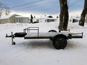 trailer remorque 4x8