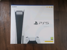 PS5 Disc Edition - Brand new