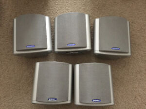 SET OF 5 ENERGY SPEAKERS WITH AN ACTIVE SUB