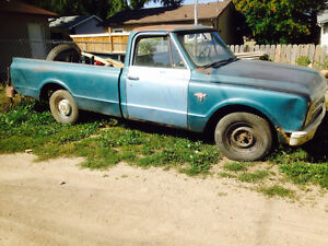 1967 Chevy truck 6 cyl spd manual $1000