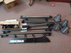 Complete Yakima roof rack outfit. AMAZING DEAL!