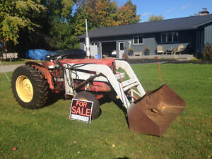 880 impematic David Brown Diesel tractor 40 hp  with loader