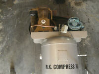 INDUSTRIAL RK 5HP AIR COMPRESSOR- PHASE 3-NEW PRICE-