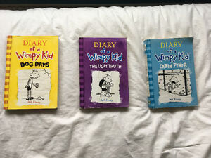 Diary of a Wimpy Kid Books 4 5 & 6