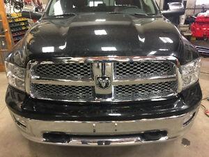 2012 Dodge Ram 1500 FRONT CLIP / NOSE - fenders hood headlights
