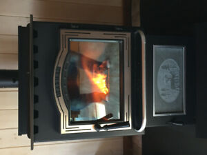 New Harman Pellet stove