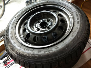 Extreme Grip Winter Claw Tire (includes rim) SIZE = 175/65R14 82