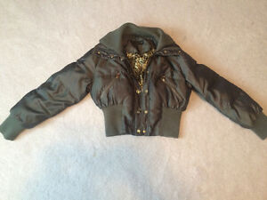 Green Baby Phat Winter Coat Kawartha Lakes Peterborough Area image 1