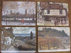 NEW: FOUR ENGLAND AND SCOTLAND PLACE MATS