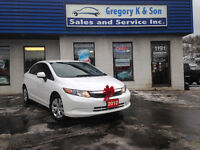 2012 Honda Civic LX , Holiday Special!!!!!!!