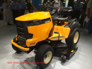 CUB CADET LAWN TRACTORS & ZERO TURN'S,0% FIN AVAIL FOR 3 YRS