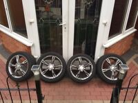 seat leon fr 17inch original alloy wheels £200