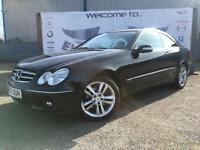 2006 MERCEDES CLK CLK280 AVANTGARDE 3.0 AUTOMATIC BEIGE LEATHER SEATS FRONT AND