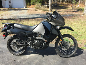 Kawasaki KLR 650 ( extremely low kms)