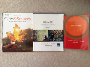 Nait business textbook-COMM3321 Critical Reading and Writing