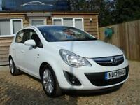 VAUXHALL CORSA SE 2012 Petrol Manual in White