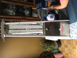 Coors light propane patio heater. Never used. Mint condition.