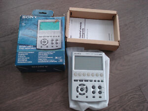 Sony LCD Multifunction Touch Screen Remote