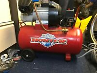 Clarke hunter 50l air compressor