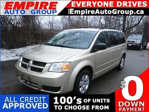 2010 DODGE GRAND CARAVAN SE 7 PASS  STOW N GO
