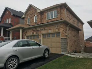 4 Bedrooms house finished walkout basement for rent