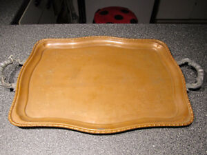 Old English Reproduction copper tray.