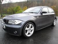 05/05 BMW 120I SPORT 5DR HATCH IN MET GREY WITH SERVICE HISTORY