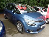 2014 14 CITROEN C4 GRAND PICASSO 1.6 E-HDI AIRDREAM EXCLUSIVE 7 SEATER DIESEL